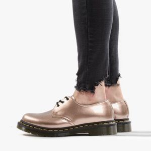 Dr. Martens 1461 Rose Gold Vegan Derby Shoe